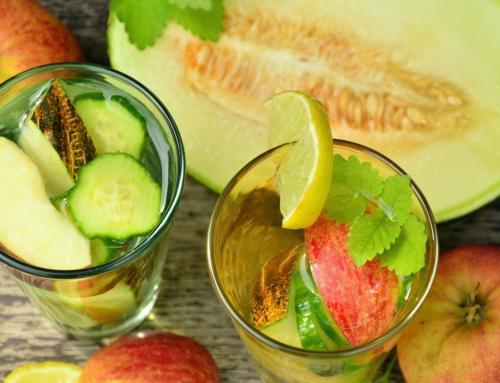 Gurke im Glas – Gurken-Gin-Cocktail