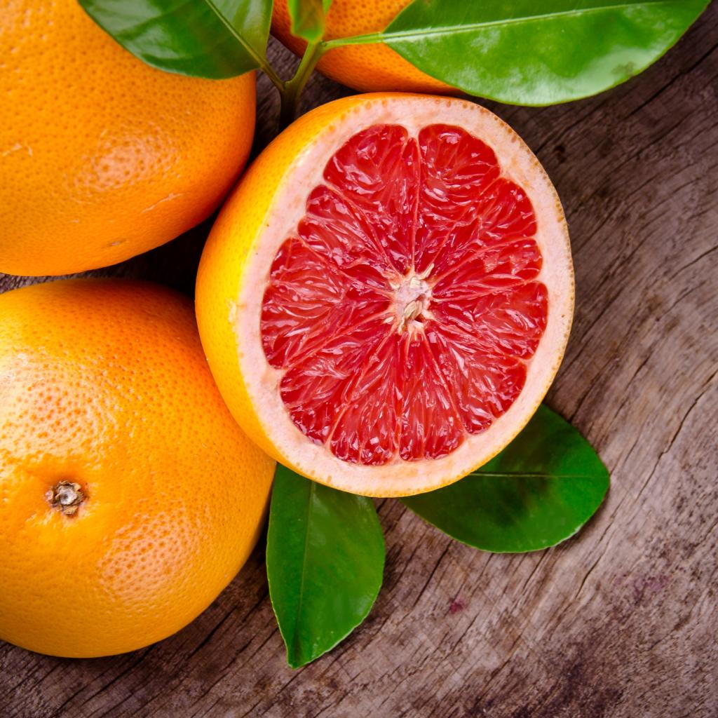 frische Grapefruit