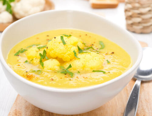 Blumenkohl Curry Suppe