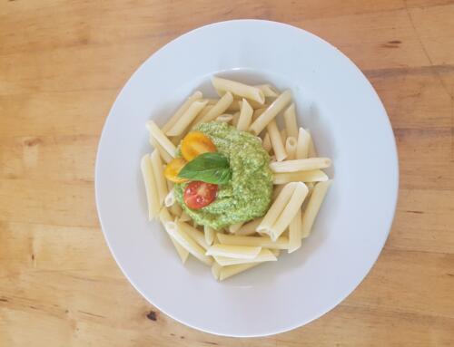 Zucchetti-Basilikum-Pesto
