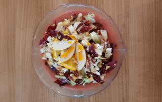 frischer Cicorino Salat