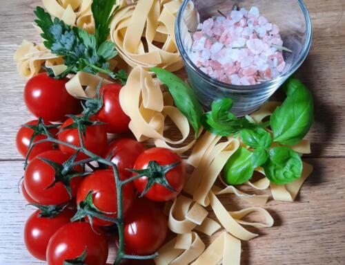 Pasta mit Cherry-Tomaten