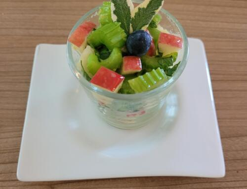 Stangensellerie-Apfel-Salat